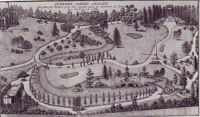 Gardens in pride and prejudice whs hbl jane austen for Jardin in english